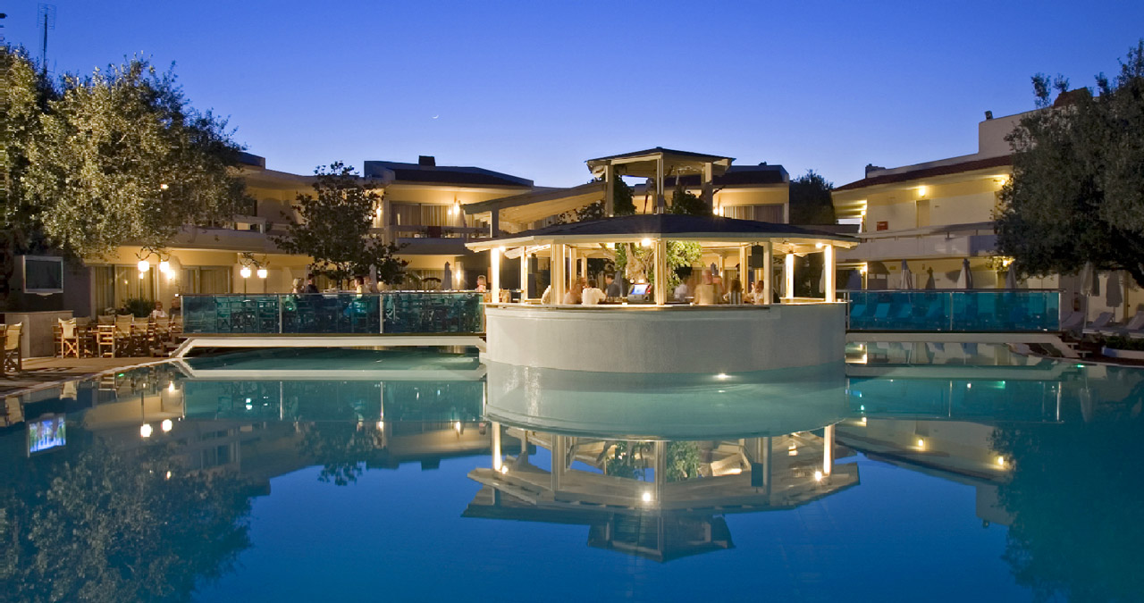 Meliton Hotel 3 (Rhodes) - budget vacation in one of the most popular hotels Theologos